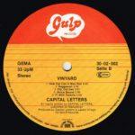 Capital Letters – Vinyard