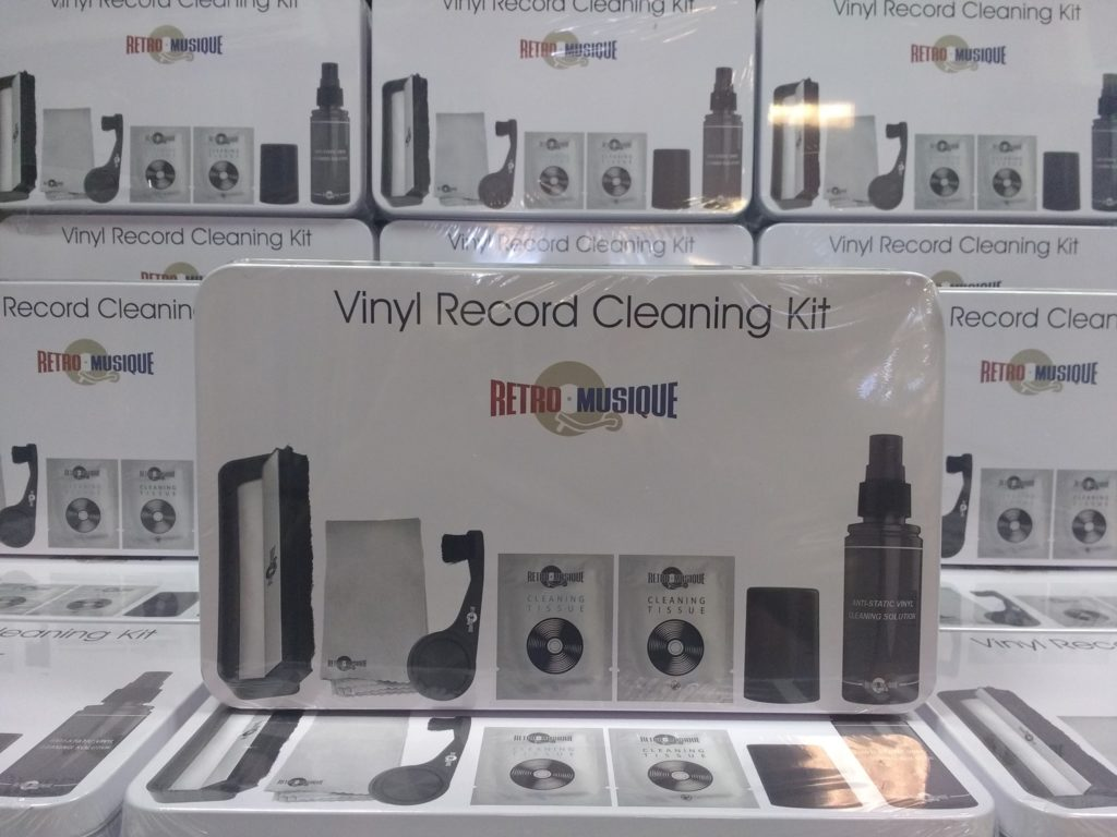 vinyl record cleaning kit
