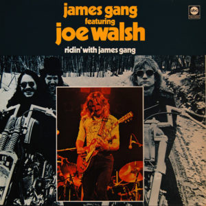 James Gang Featuring Joe Walsh – Ridin' With James Gang