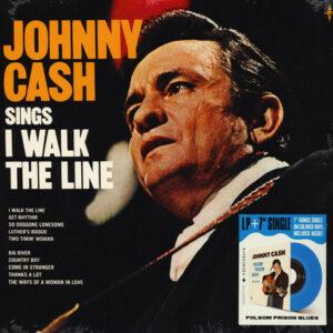 Johnny Cash – Sings I Walk The Line