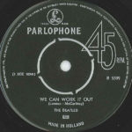 The Beatles – We Can Work It Out / Day Tripper