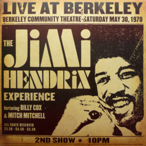 The Jimi Hendrix Experience ‎– Live At Berkeley