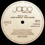 Larry Karush / Glen Moore – May 24, 1976