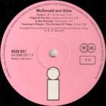 McDonald And Giles – McDonald And Giles