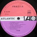 Yes – Fragile