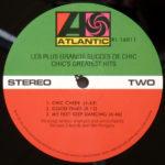 Chic – Les Plus Grands Succes De Chic = Chic's Greatest Hits