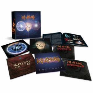 Def Leppard  6 LP Box Set Vinyl Collection # 2