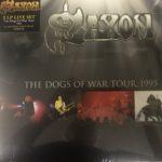 Saxon 2 LP Set Gold Vinyl  Dogs Of War Tour, 1995