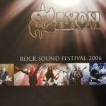 Saxon 2 LP Set Gold Vinyl  Rock Sound Festival, 2006