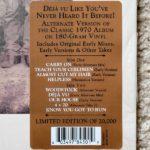 Crosby Stills Nash & Young  LP  The Alternate Deja Vu (record store day release)                                      QQ